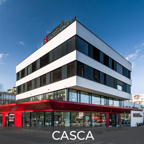 Projekt CASCA | Stavebná spoločnosť ise