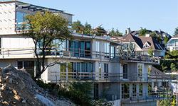 Dokončenie hrubej stavby Gansberg