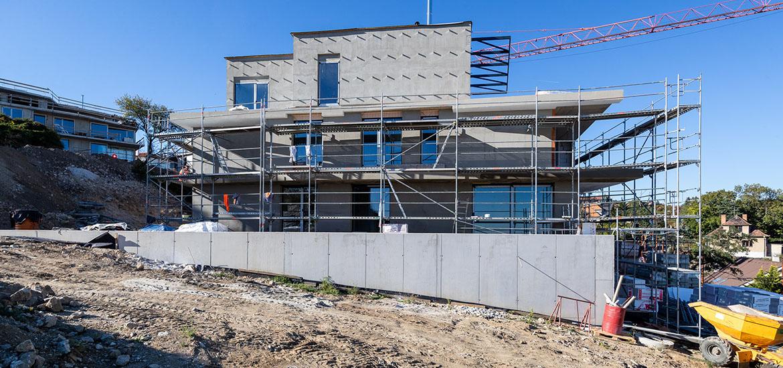 Gansberg hrubá stavba dokončená - stavebná spoločnosť ise s. r. o.